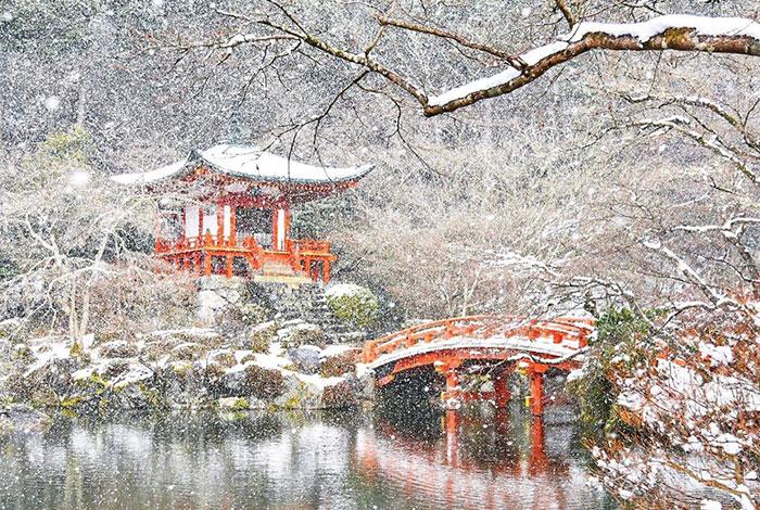 Заснеженный Киото - 1