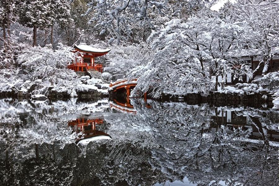Заснеженный Киото - 4