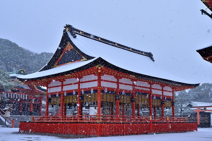 Заснеженный Киото - 6