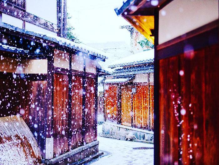Заснеженный Киото - 7