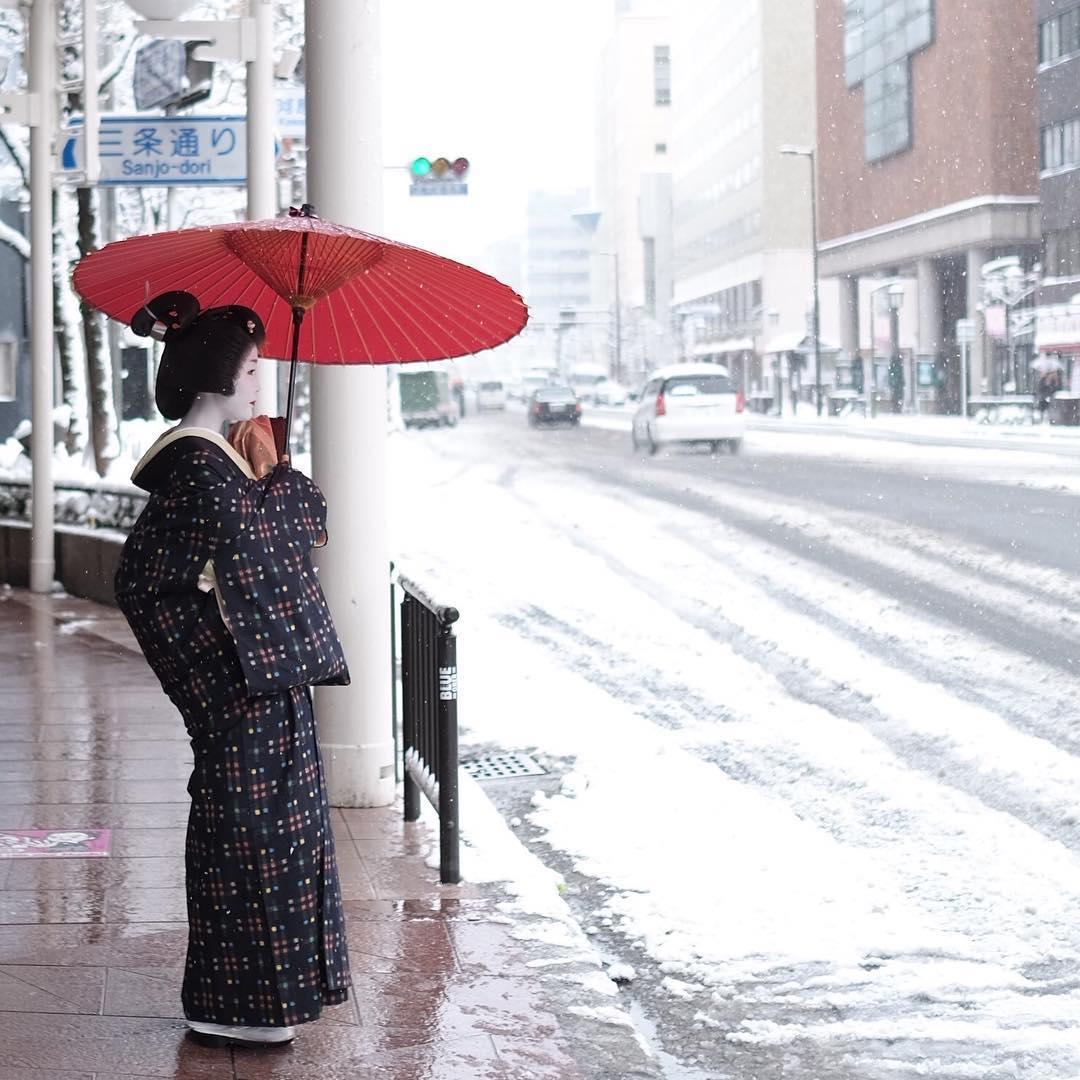 Заснеженный Киото - 8