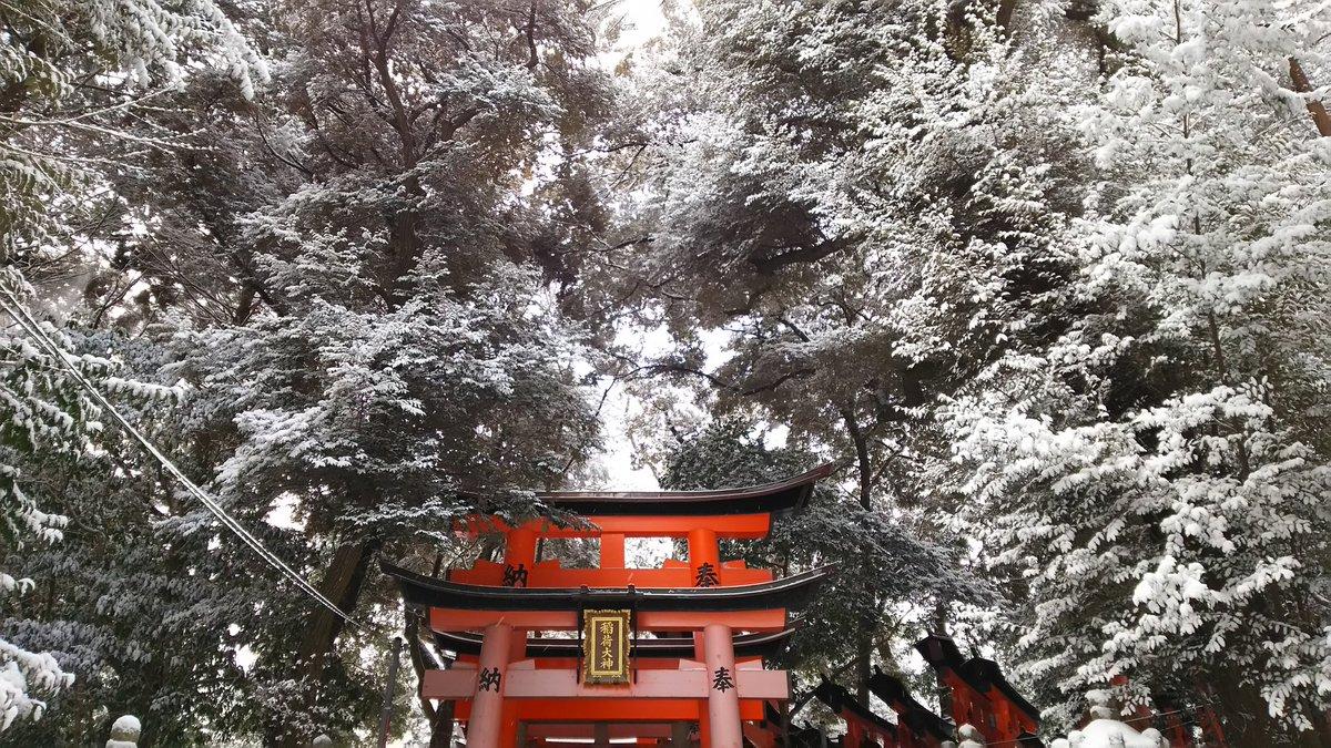 Заснеженный Киото - 10