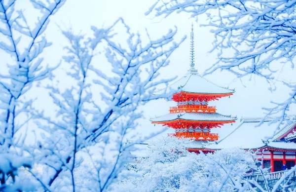 Заснеженный Киото - 11