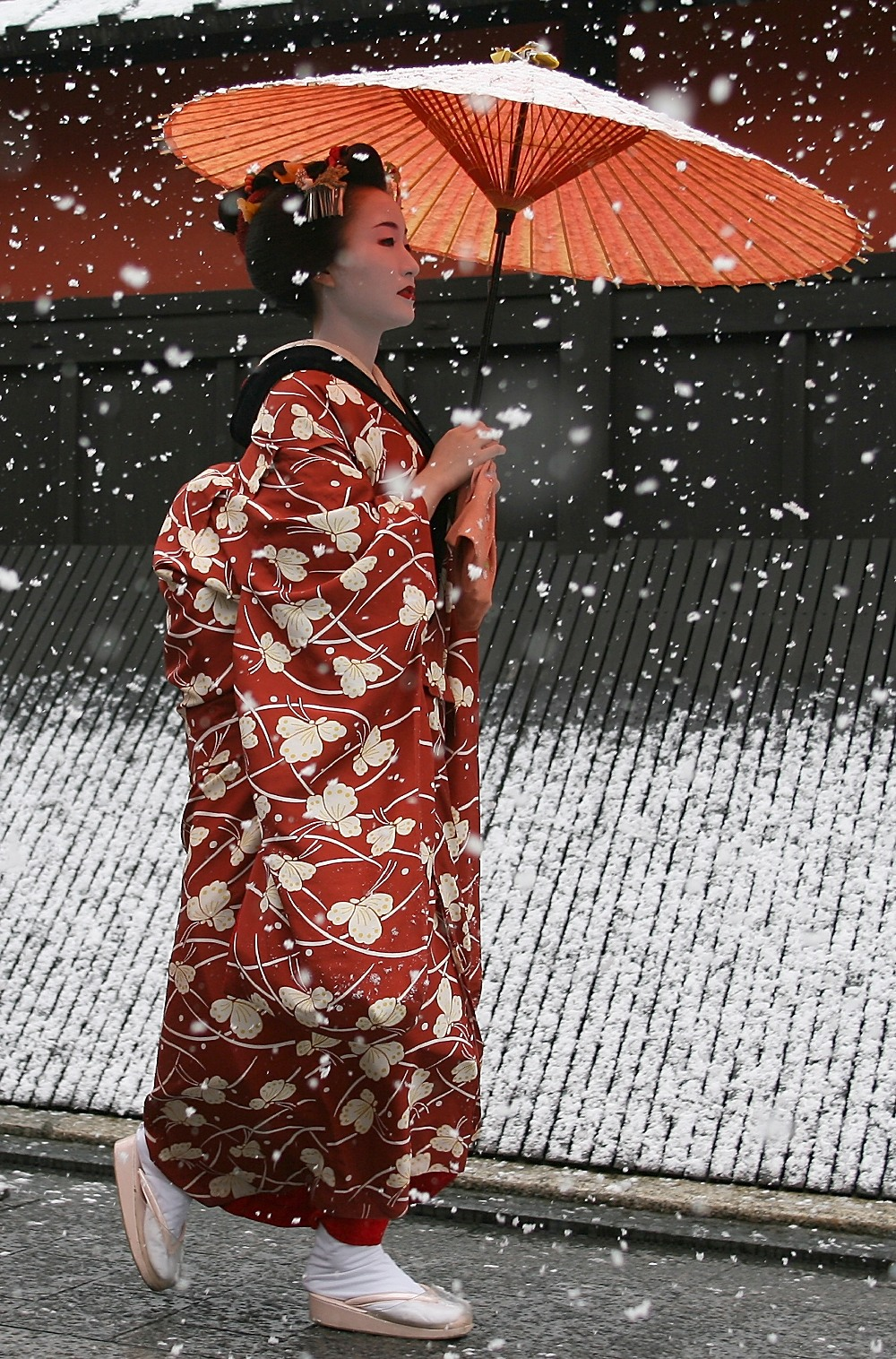 Заснеженный Киото - 17