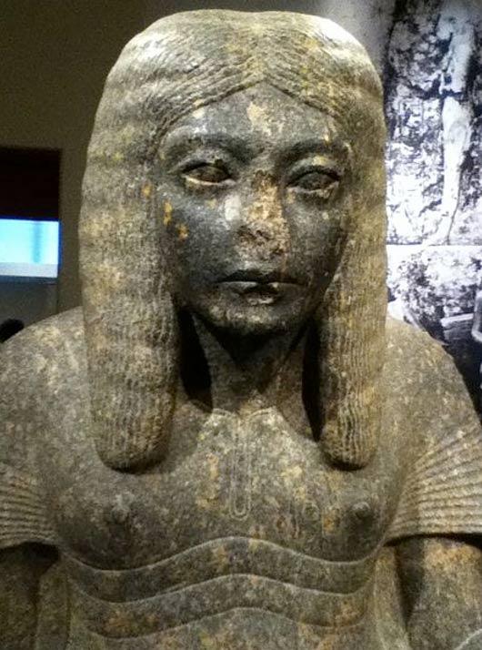 Безносые египетские статуи - 3