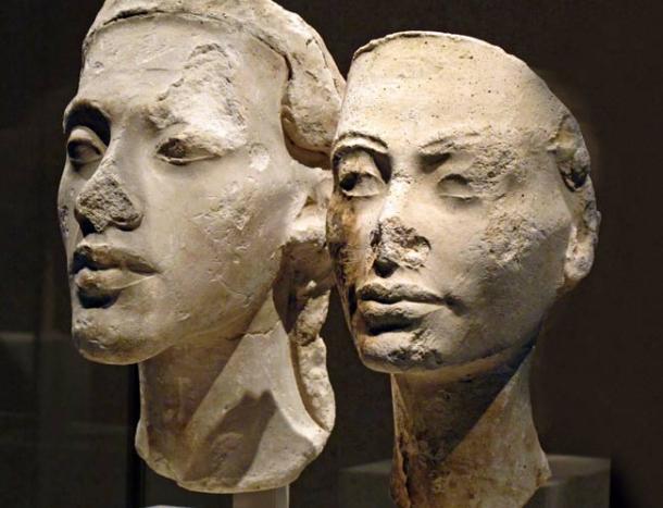 Безносые египетские статуи - 5