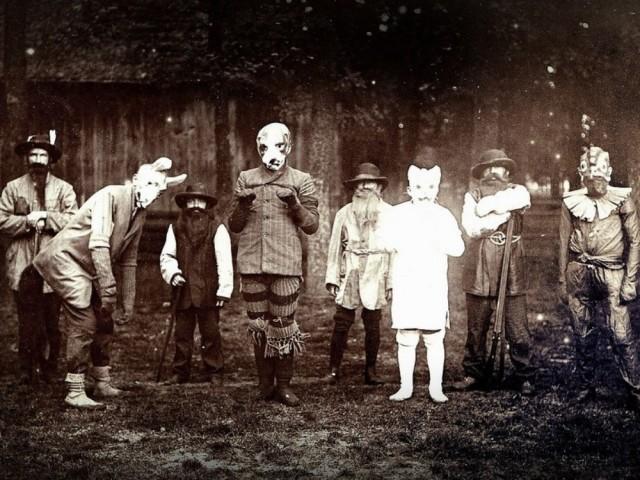 Странные исторические фото
