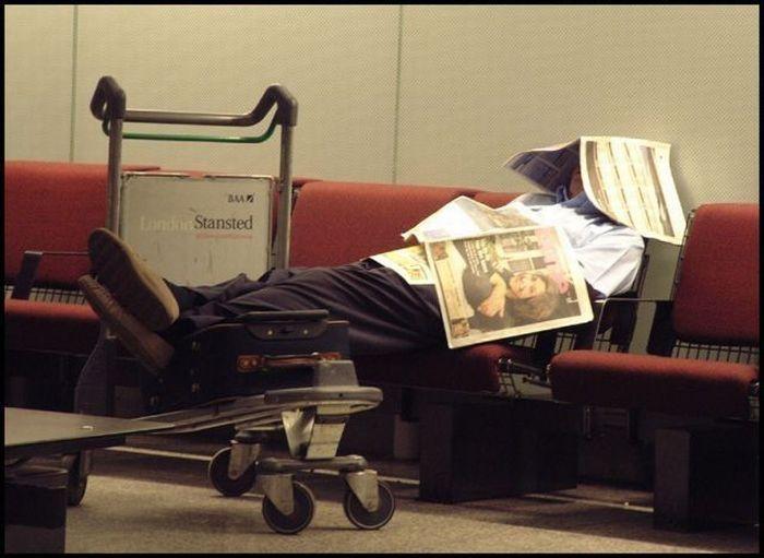Смешные картинки в аэропорту