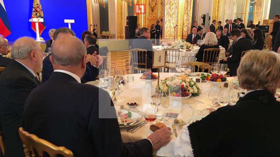 Какие деликатесы подавали на стол в Кремле на День народного единства
